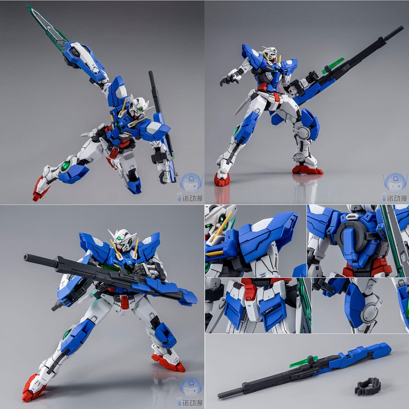 Original Gundam Model PB RG 1/144 00 EXIA GN-001 GUNDAM  REPAIR III 3 00 Destiny Armor Unchained Mobile Suit Kids Toys