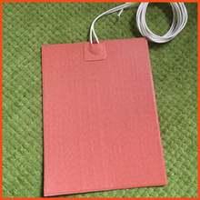 Evrensel esnek silikon heater mat/pad/eleman motor yağı tava