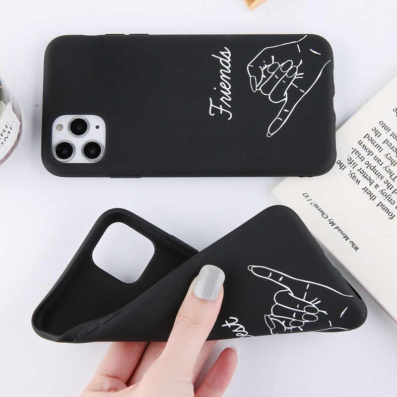 Lovebay Divertente Coppie Caso del Cuore di Amore Per il iPhone 12 Mini 11Pro Max X XS XR Xs Max Molle di TPU Semplice copertura Per il iPhone 6 6s 7 8 Più