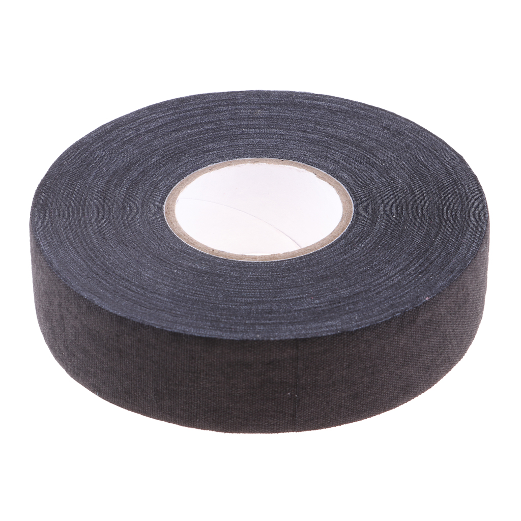 1 Roll  Hockey Cloth Tape Waterproof Adhesive Ice Hockey Lacrosse Stick Wrap Grip Cotton