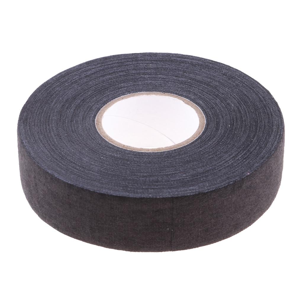 1 Roll  Hockey Cloth Tape Waterproof Adhesive Ice Hockey Lacrosse Stick Wrap Grip Cotton