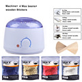 Wax For Depilation Hair Removal Wax Beans Wood Stickers Wax Melter Machine Waxing Heater Kit Wax Strips