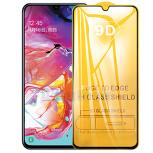 9D 9H Full Cover Tempered Glass On The For Samsung Galaxy A70 A30 A50 A40 M20 A60 A80 A90 M10 M30 2019 Screen Protective Glass 9h full tempered glass for samsung galaxy m40 m30 m20 m10 a50 a30 a20 a40 a70 a80 a90 s8 a6s a8s a9s screen protector film glass