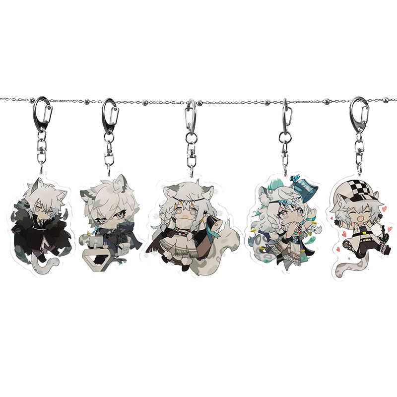Acrylic Keychain Arknights Liskam Amiya Pramanix SliverAsh Cliffheart Strap 6cm