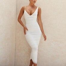 Элегантное Белое Сетчатое платье newasia женское шикарное асимметричное