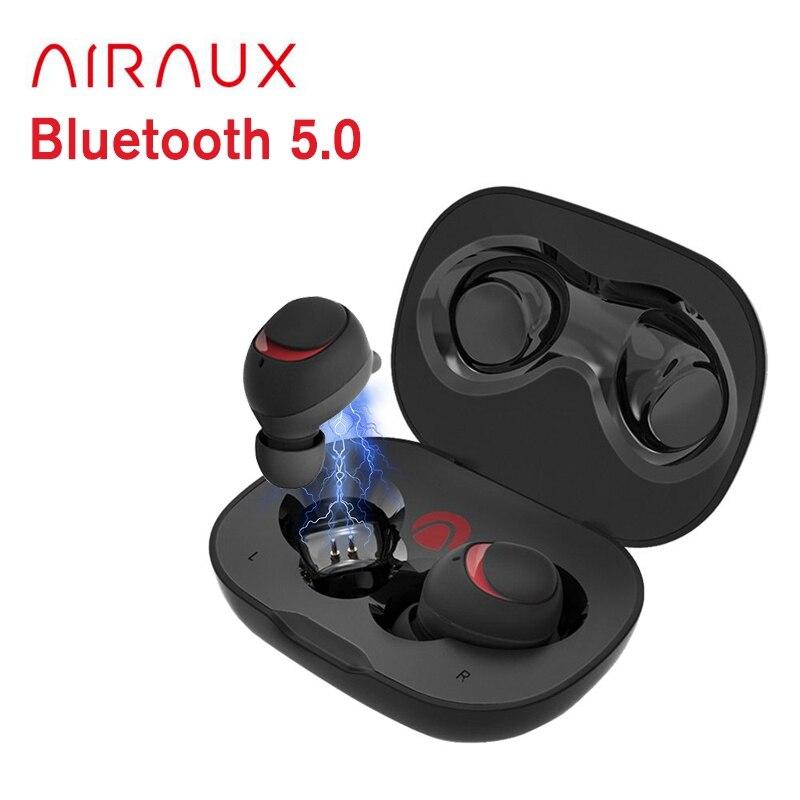 AIRAUX True беспроводные Bluetooth наушники гарнитура Hi-Fi стерео наушники водонепроницаемые с микрофоном для BlitzWolf brother в наличии