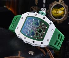 A 2021 Richard męskie zegarki Top marka luksusowe zegarki męskie Mille DZ mężczyzna zegar kwarcowy automatyczne zegarki na rękę tanie tanio LIWO QUARTZ NONE Klamra CN (pochodzenie) STAINLESS STEEL Nie wodoodporne Moda casual 22mm ROUND 15mm Odporny na wstrząsy