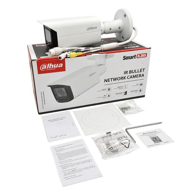 Dahua Original IPC-HFW2831T-ZAS-S2 8MP 4K 5X Zoom POE fente pour carte SD alarme Audio e/s H.265 + 60M IR IVS IP67 Starlight caméra IP