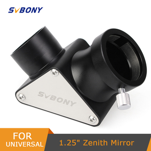 """Image 1 - SVBONY Fully Metal 1.25"""" Mirrors Diagonal 90 Degree for Refractor  Astronomy Telescope Full Metal F9171A"""