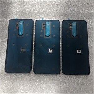 Image 2 - Oryginalna obudowa telefonu 4D obudowa baterii pokrywa dla Xiaomi Redmi Note 8 Pro części zamienne bateria tylna pokrywa drzwi darmowa wysyłka