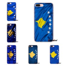 kosovo flags National Banner Soft Transparent Cases Covers For iPod Touch Apple iPhone 4 4S 5 5S SE 5C 6 6S 7 8 X XR XS Plus MAX(China)