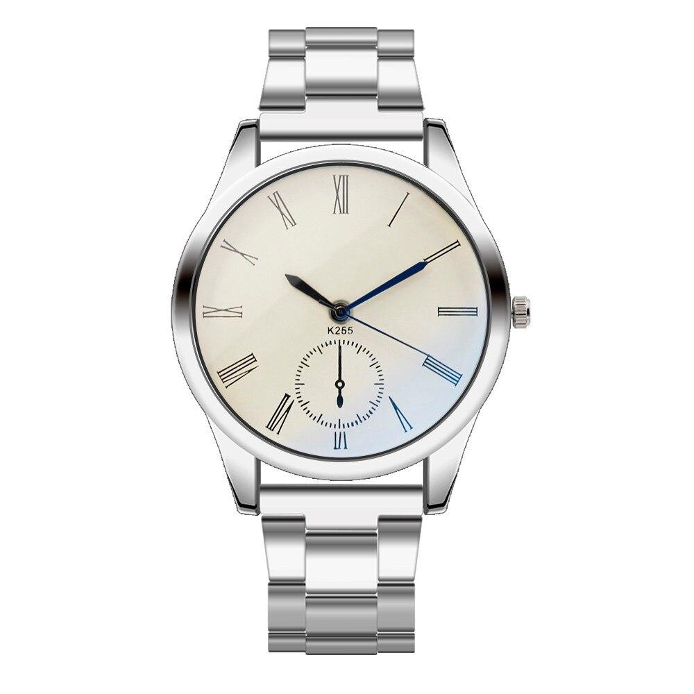 Stainless Steel Sport Quartz Hour Wrist Analog Watch Luxury Watch Men Rose Gold Wall Clock Sticker Relogio Feminino Montre Fi