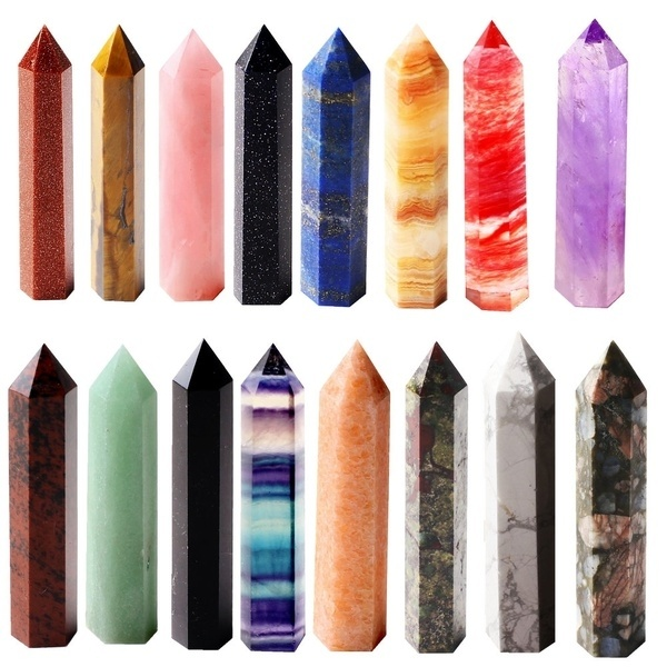 1 шт., натуральный кристалл, точечная энергетическая колонка, отполированный вручную очень красивый драгоценный камень, минералы, кристаллы