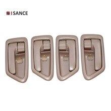 ISANCE ภายในประตู Handle Tan ซ้ายขวา FL FR RL RR 69206 AA010 69205 AA010 สำหรับ Toyota Camry 1997 1998 1999 2000 2001