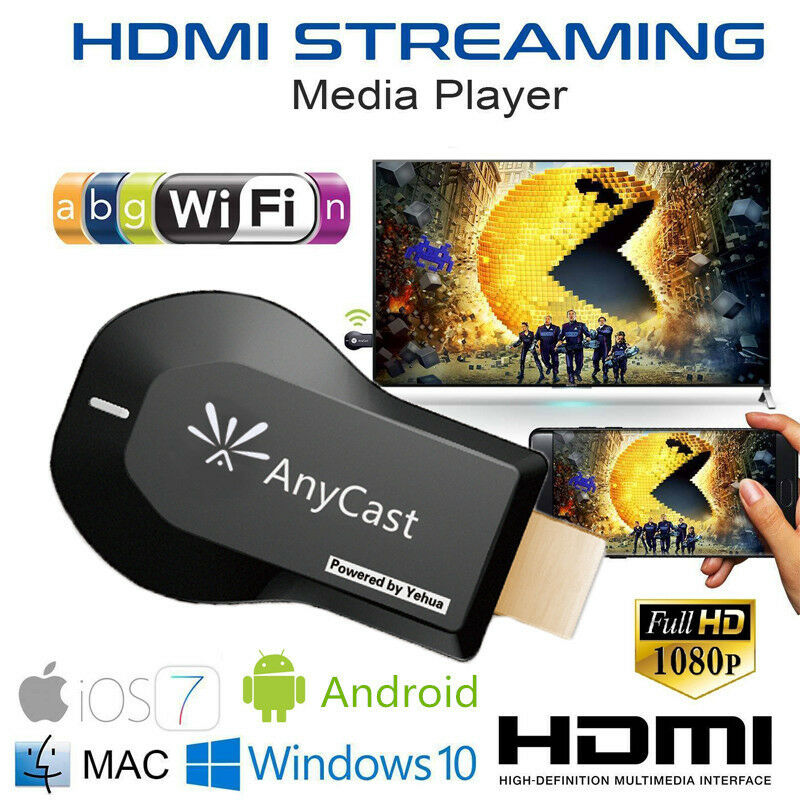 WiFi Dongle <font><b>TV</b></font> 1080p Display DLNA HDMI Wireless Receiver Miracast Für Android Apple <font><b>iPhone</b></font> <font><b>TV</b></font> PK Google Chrome image