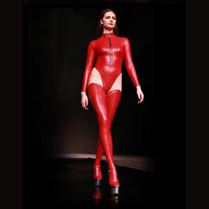 2 шт./компл. боди с длинным рукавом размера плюс XXL, латексный купальник с высоким вырезом, стринги, бикини, сексуальный костюм, фитнес, боди