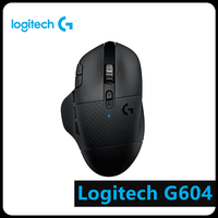 Logitech G604 LIGHTSPEED Wireless Bluetooth 16000 DPI Optical Gaming Mouse Computer Peripheral Accessories