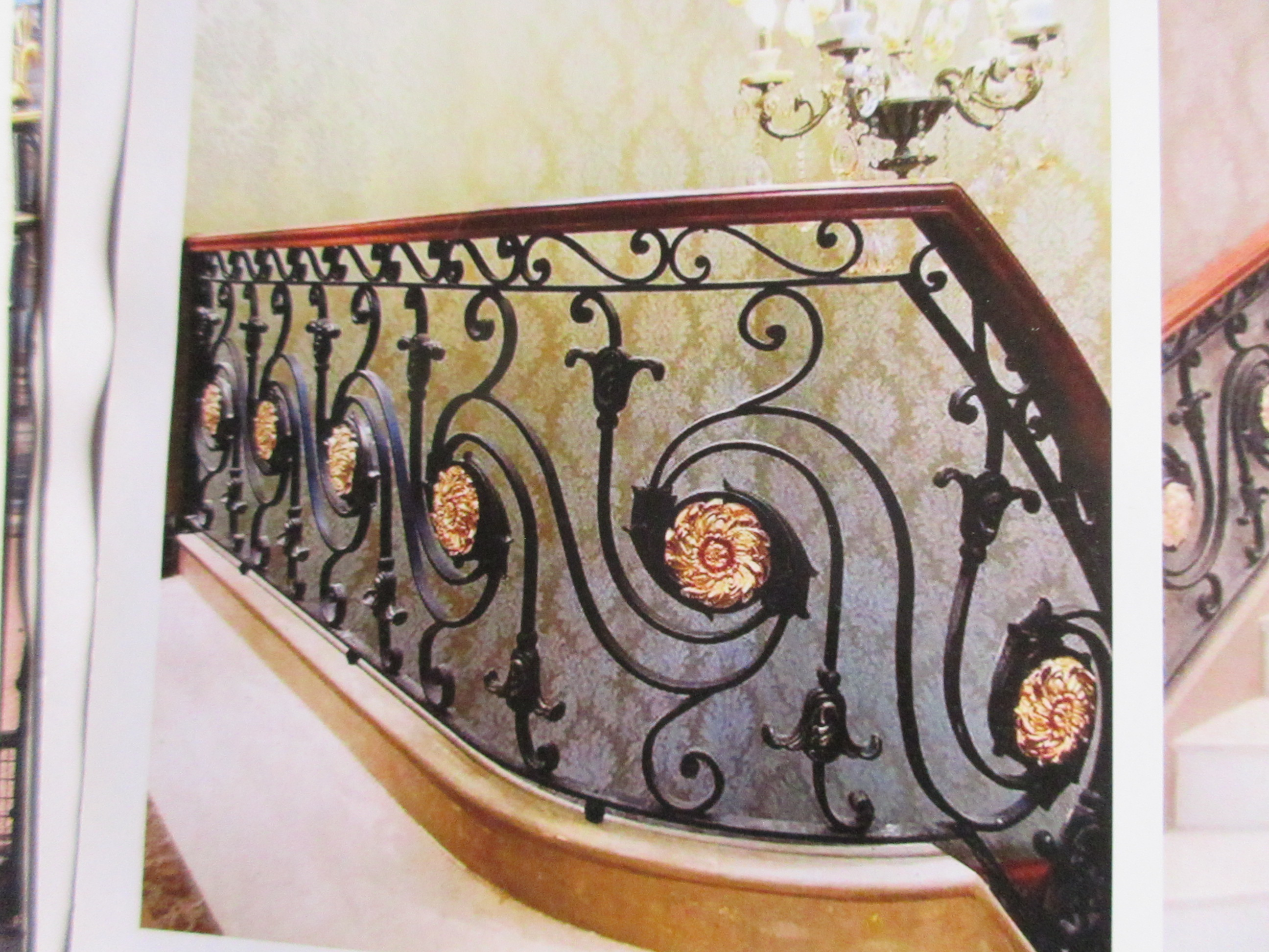 Hench Shanghai China Supplier Modern Iron Railing Designs