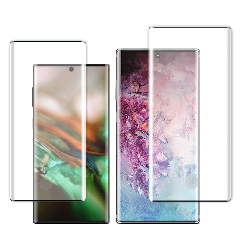 Tempered Glass For Samsung Galaxy Note 10 Protective Screen Protector For Samsung Galaxy Note 10 Pro Note10 Film in Phone Screen Protectors from Cellphones Telecommunications