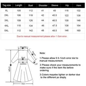 Image 5 - MK 2019 autumn Plus Size womens denim Shirt dress fashion Ladies femal elegant embroidery dresses woman party night