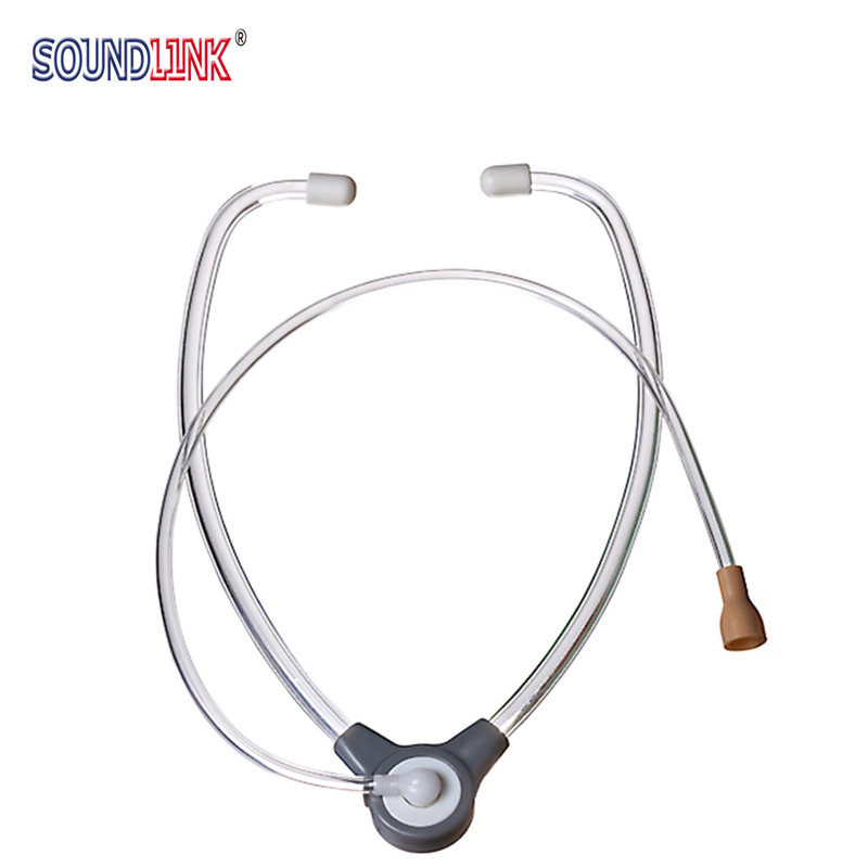 Hearing Aid Stethoscope Binaural Listening Tubing Hearing Aids Tester For Testing BTE, ITE, ITC, CIC