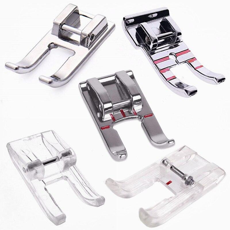 1 шт., прижимная лапка с открытым носком, детали для домашних швейных машин, подходит для швейных машин Brother 5BB5958