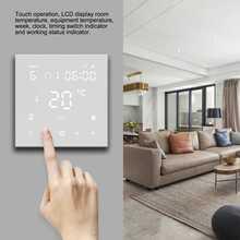 WiFi Smart Thermostat LCD Digital Temperatur Controller Touchscreen für Elektrische Boden Heizung Wasser