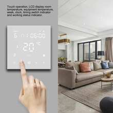 WiFi Smart Thermostat LCD Digital Thermostat Touch Screen for Electric Floor Heating Water AC90 ~ 240V