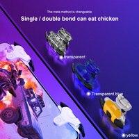 2021 nuovo metallo ABS Controller di gioco cellulare Gamepad Mobile Joystick Trigger per PUBG Fire Shooting scopo chiave Controller L1R1