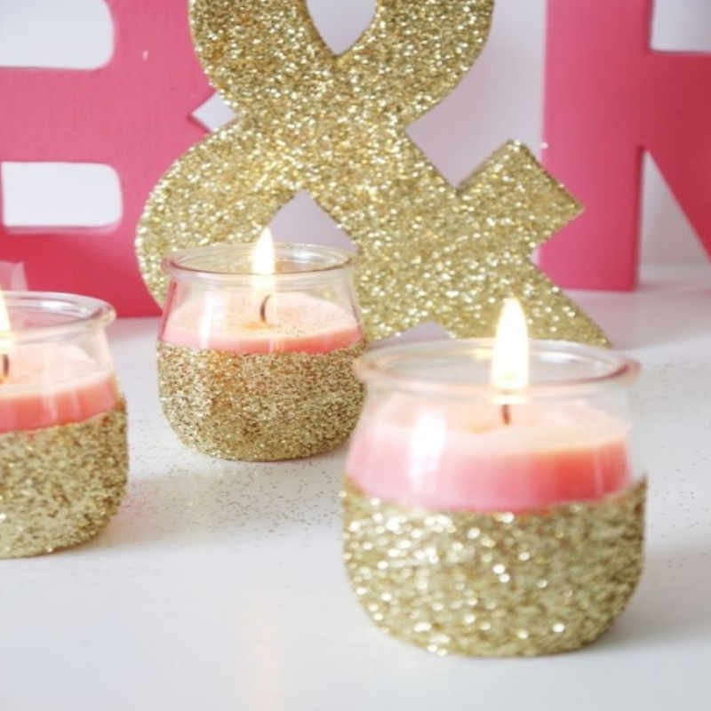 Light Gold Glitter ผงไข่มุกแฟลชฝุ่นเงาโลหะ Pigment,งานฝีมือ DIY,เล็บเคลือบสีจัดส่งฟรี