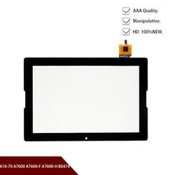 Новая 10,1-дюймовая сенсорная панель для Lenovo Tab, сенсорный экран с дигитайзером, сенсорная панель для ремонта, AP101303, A7600, A10-70, B0474, AP101303