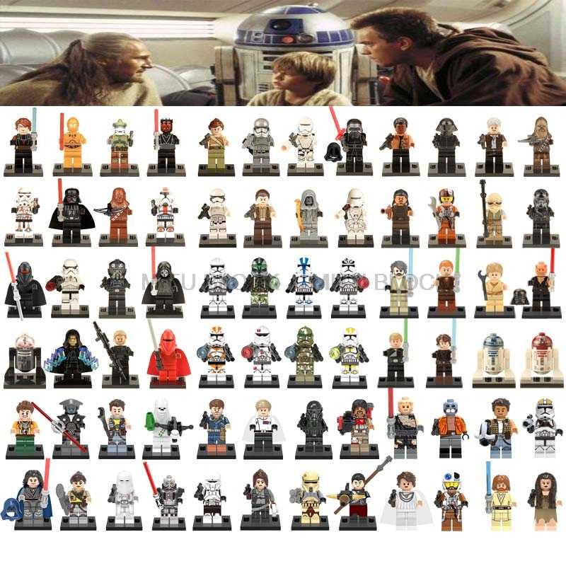 Star Wars Figuur Star Wars Pop Jedi Knight Rey Master Yoda Sheev Palpatine Jedi Knight Compatibel Klassieke Starwars Blok