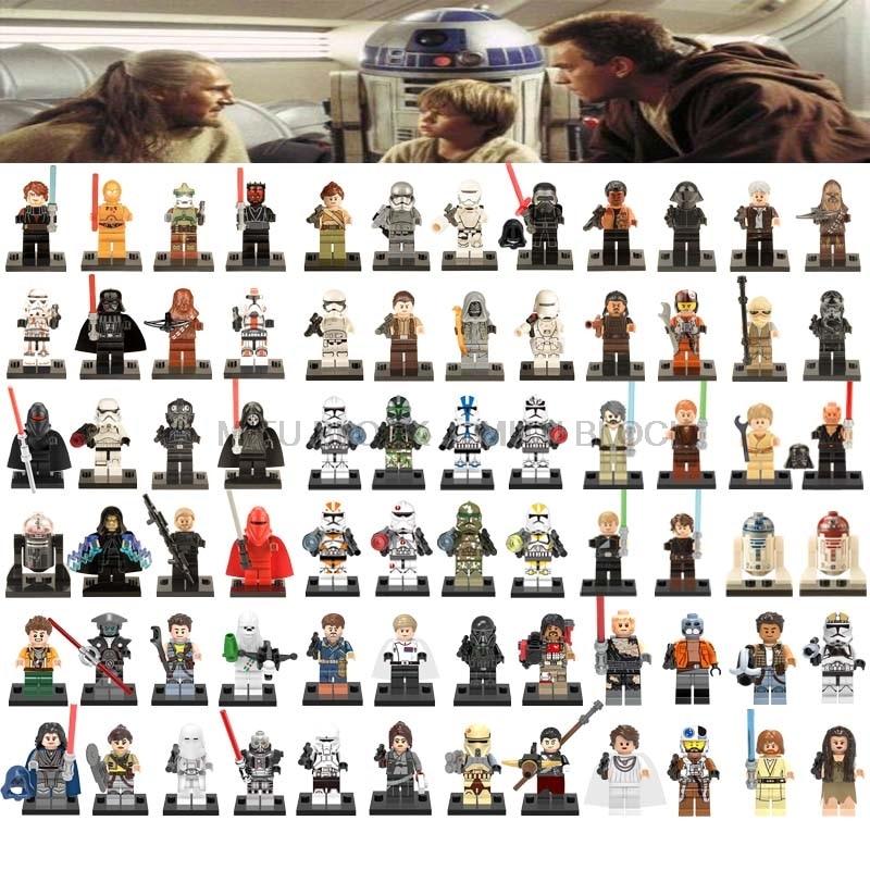 Star Wars Figure Star Wars Doll Jedi Knight Rey Master Yoda Sheev Palpatine Jedi Knight Compatible Classic Starwars Block