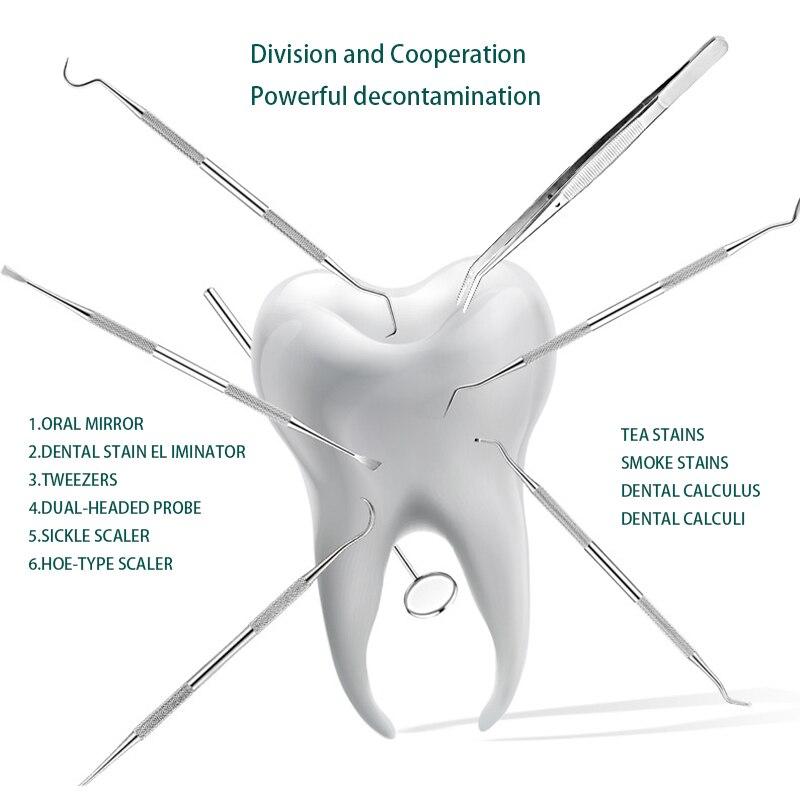 3 шт. стоматологический рот зеркало зонд крюк выбор Пинцет Набор Из Нержавеющей Стали Стоматологические Инструменты для стоматолога подгот...