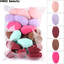 Wholesale Professional Makeup Sponge Foundation Powder Concealer Puff Mix Cosmetic Blender Sponge Smooth Makeup Sponge Puff