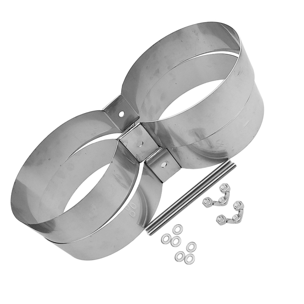 Bandes de montage/connecteur/retenue de réservoir de Double cylindre de plongée de technologie de plongée d'acier inoxydable - 6