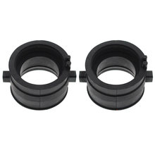 2pcs Boots Professional Carburetor Rubber Motorcycle Seal Engines Easy Install Intake Manifold 16211-MAW-600 For Honda Shadow(China)