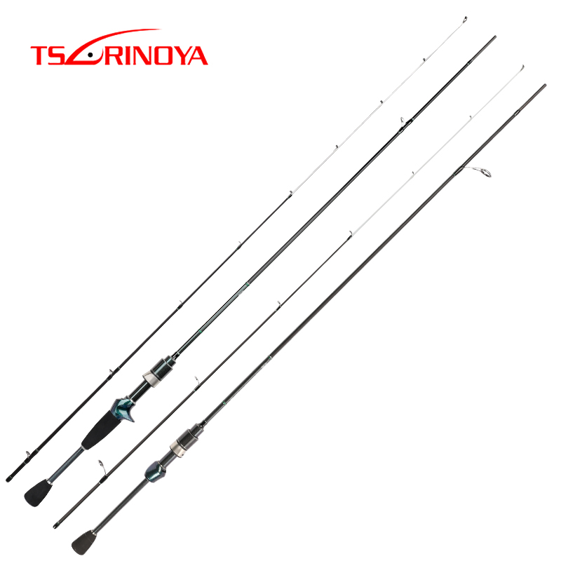 TSURINOYA DEXTERITY 1.89m Spinning Casting Rod Ultralight Fishing Rod Lure 0.6 8g Ultra Light Carbon Fishing Pole Canne A Peche-in Fishing Rods from Sports & Entertainment