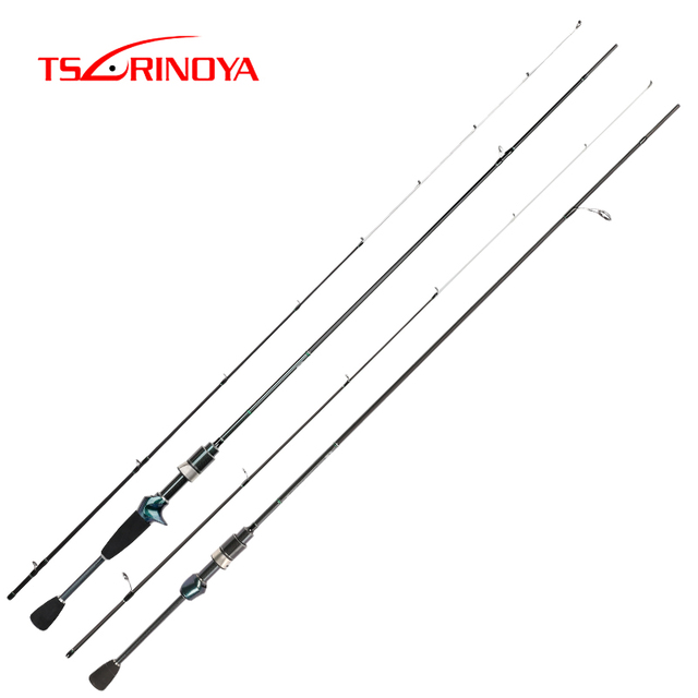 TSURINOYA DEXTERITY 1.89m Spinning Casting Rod Ultralight Fishing Rod Lure 0.6 8g Ultra Light Carbon Fishing Pole Canne A Peche