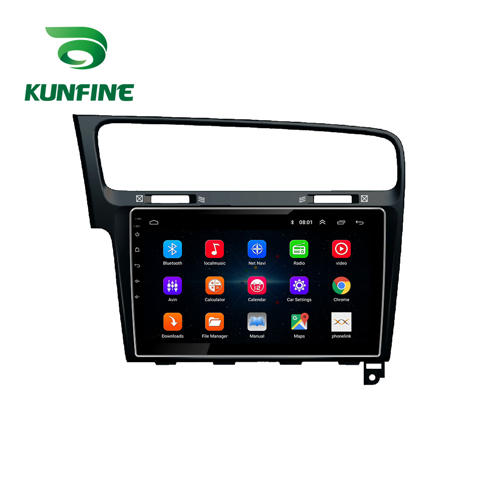 Octa Core Android 10.0 Car DVD GPS Navigation Player Deckless Car Stereo for <font><b>VW</b></font> <font><b>GOLF</b></font> <font><b>7</b></font> 2014 2015 2016 2017 2018 2019 Radio image