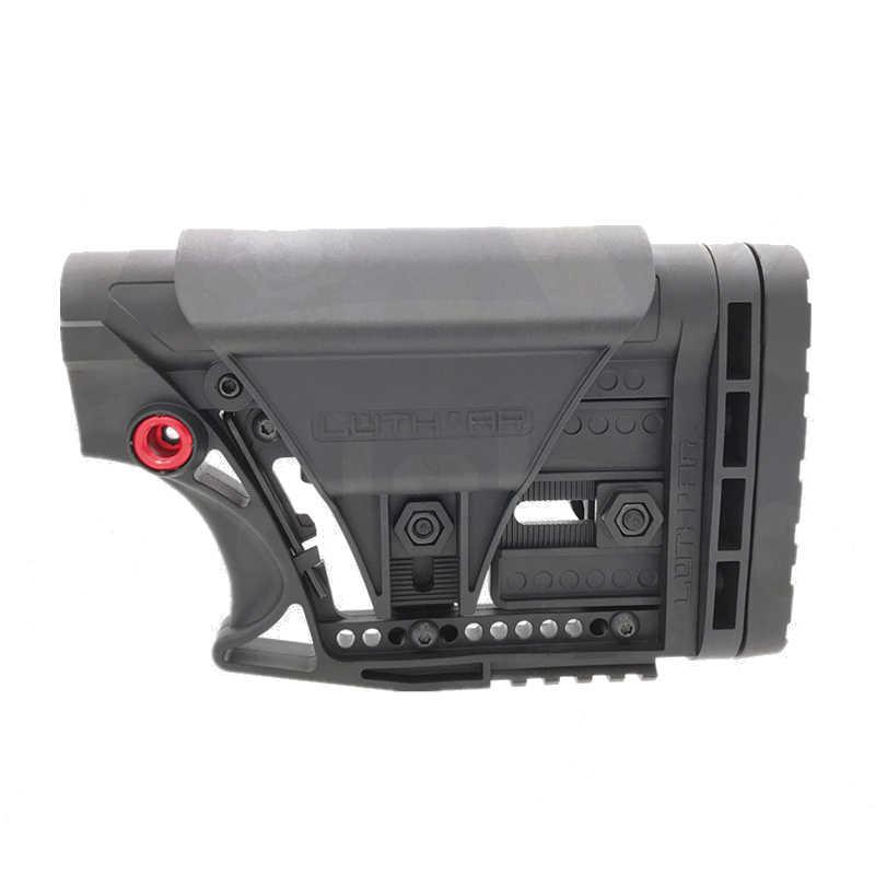 Кодовый X гелевый шарик, нейлоновый приклад, аксессуары для игрушечного пистолета TTM BD556 M16 MEG Nylonl, игрушечный пистолет, улучшенные аксессуары