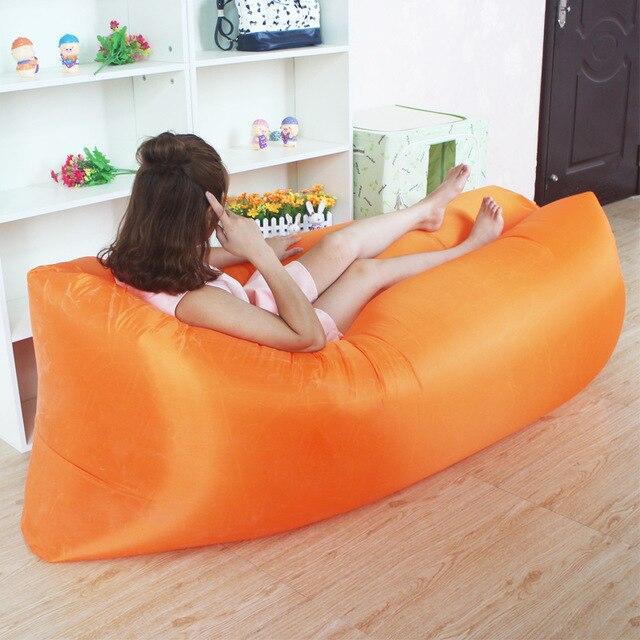 praia rede inflável do sofá do ar