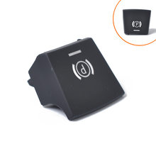 Car handbrake, parking brake button switch cover, suitable for BMW 57 F01 F02 F07 F10