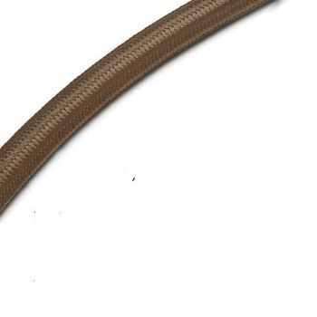 Cable electrico textil vintage 1 M Marron