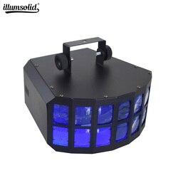 Oświetlenie imprezowe z DMX512 miejscu etapie światła DJ skie 27W oświetlenie aktywowane dźwiękiem reflektor ceremonia ślubna strona główna w Oświetlenie sceniczne od Lampy i oświetlenie na