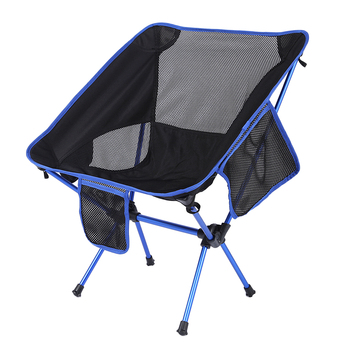 Durable Camping Chairs Folding Fishing Chair Stool Portable Moon Chair for Outdoor Hiking Camping Picnic Home Party Rest Seat