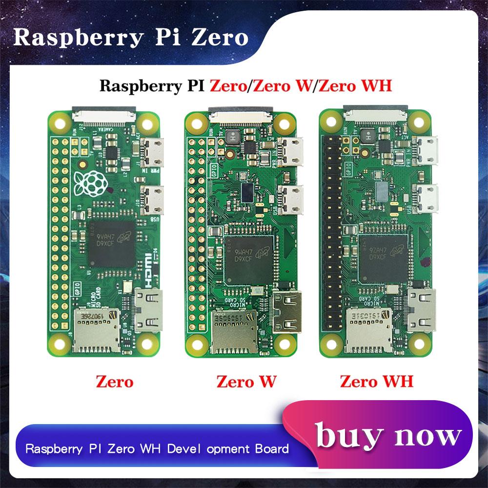 Raspberry pi zero/zero w/zero wh wifi bluetooth placa com 1ghz cpu 512mb ram raspberry pi versão zero 1.3 rpi59