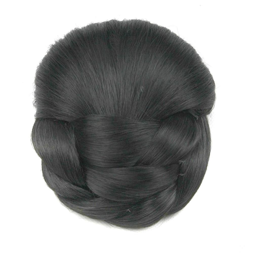 Soowee 6 цветов Синтетический волос Плетеный шиньон коричневый блонд заколка в пучок для волос женский пончик Аксессуары для волос Роликовые ш...