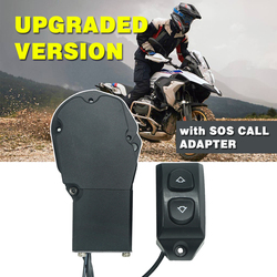 Electric Windscreen For BMW R1250GS Adventure R1250 GS/ADV Elevator Windshield Electrical Remote Control Switch SOS Adapter