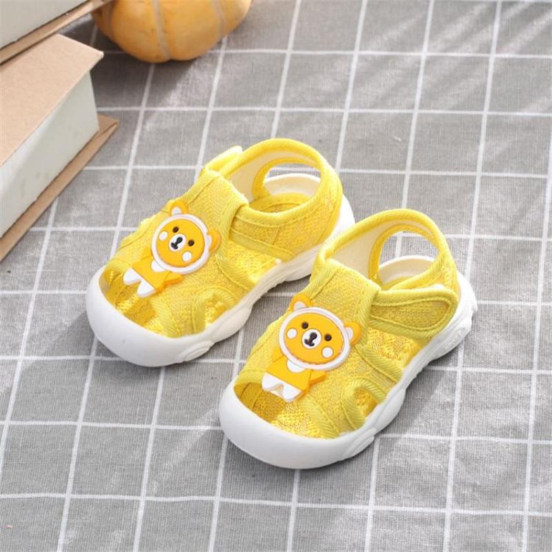 Summer 2020 New Kids Shoes Baby Anti-kick Shoe Soft-soled Walking Newborn Infant Baby Girl Boy Soft Infants Anti-slip Sneaker